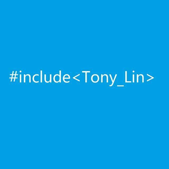 Tony.Lin 的小屋
